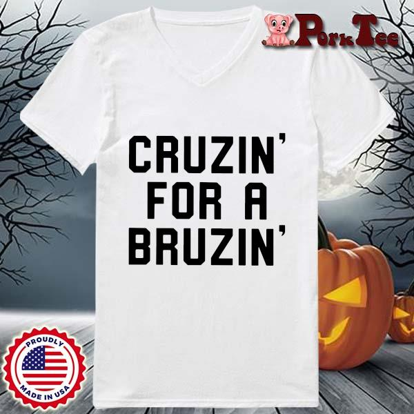 Cruzin' for a bruzin' s Ladies Porktee trang
