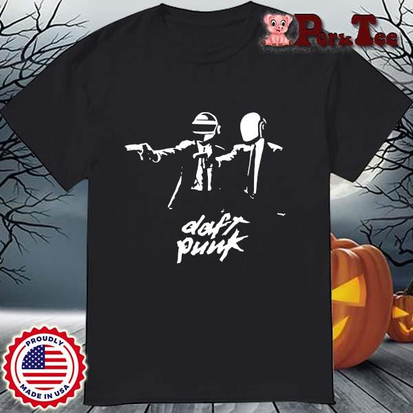 Daft Punk Fiction Essential T-Shirt
