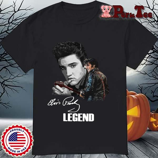 Elvis Presley Legend Signature Shirt