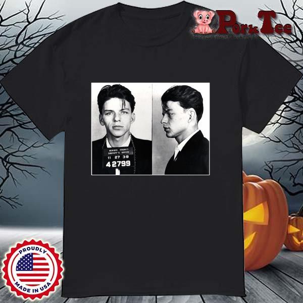Frank Sinatra Mugshot Shirt