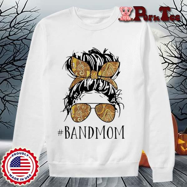 Girl #Bandmom s Sweater Porktee trang