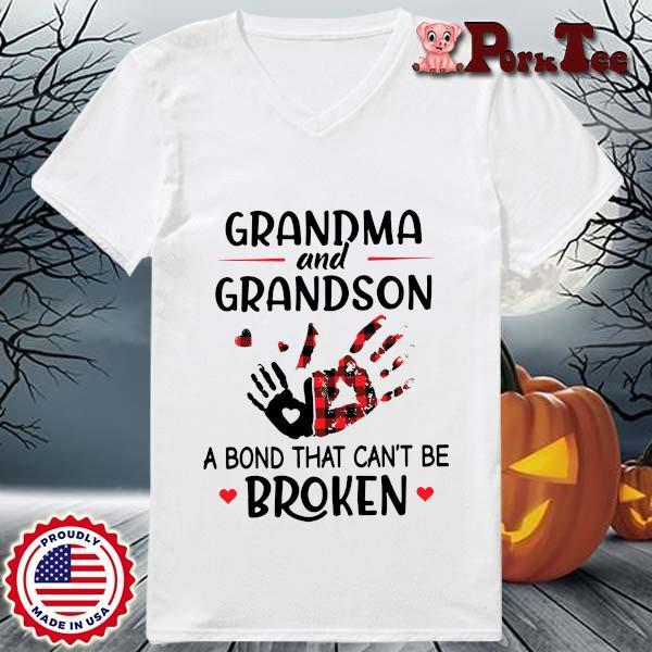 Grandma and grandson a bond that can't be broken s Ladies Porktee trang