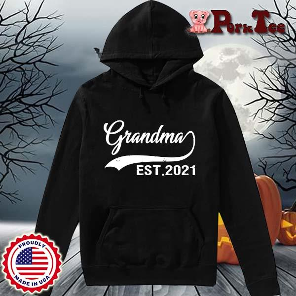 Grandma est 2021 shirt(1) Hoodie Porktee den