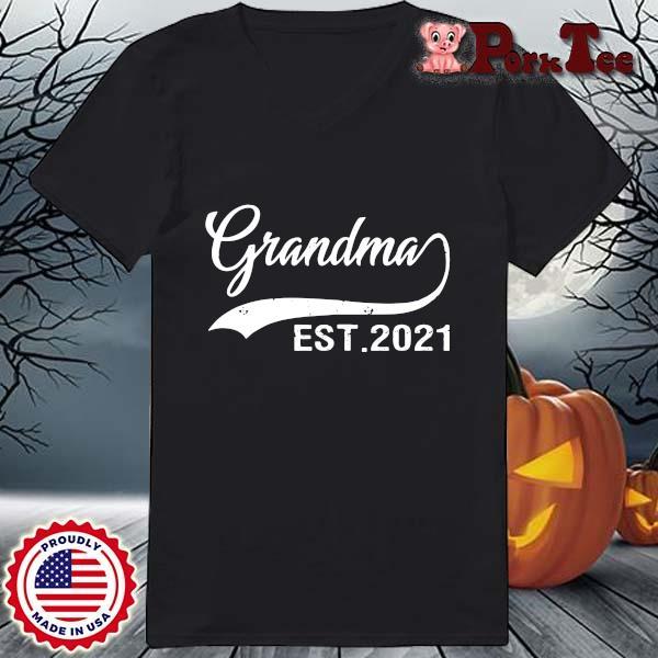 Grandma est 2021 shirt(1) Ladies Porktee den