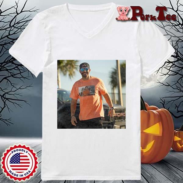 J.D. Martinez Tom Brady Drunk Shirt Ladies Porktee trang