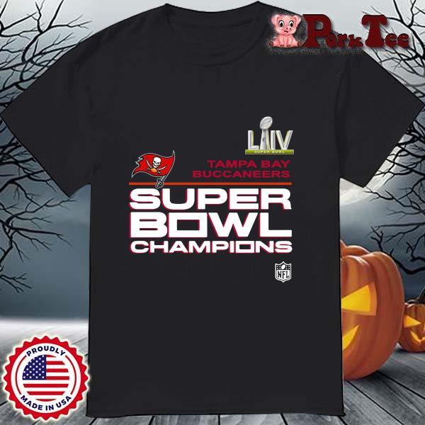 LIIV Tampa Bay Buccaneers super bowl Champions shirt