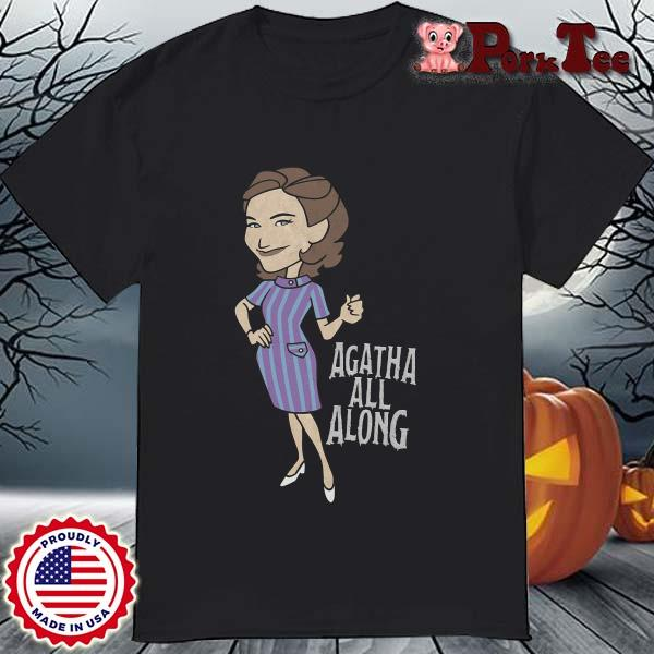 Wandavision Agatha All Along Portrait Shirt