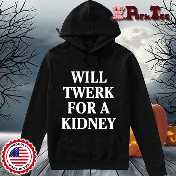 Will twerk for a kidney s Hoodie Porktee den