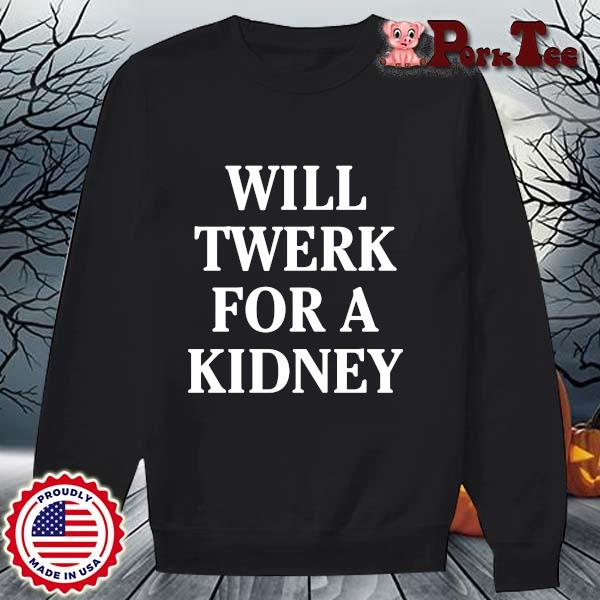 Will twerk for a kidney s Sweater Porktee den
