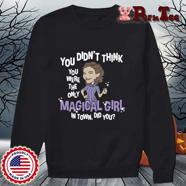 You didn't think you were the only magical girl in town did you s Sweater Porktee den