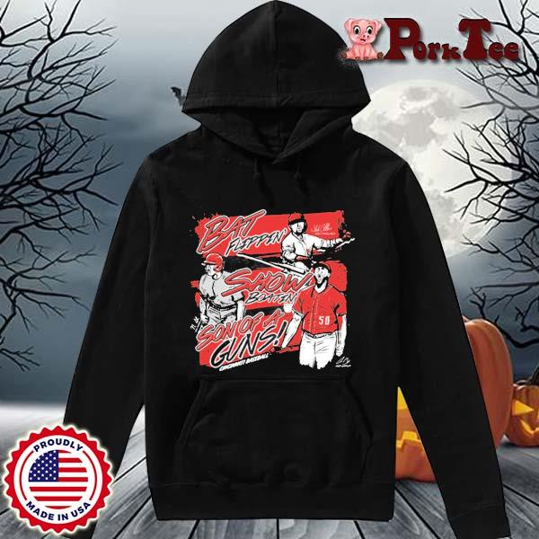 Bat Flippin Show Boatin Son Of A Guns Shirt Hoodie Porktee den