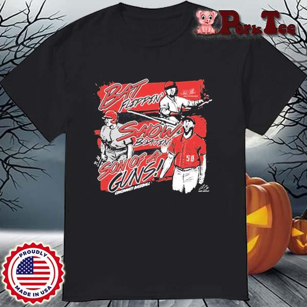 Bat Flippin Show Boatin Son Of A Guns Shirt