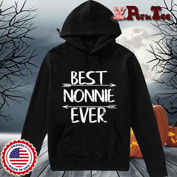 Best nonnie ever s Hoodie Porktee den