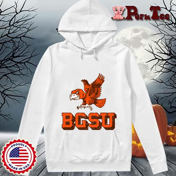 Bowling Green State University Flying Falcon Shirt Hoodie Porktee trang
