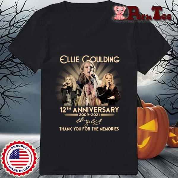 Ellie Goulding 12th anniversary 2009-2021 thank you for the memories signature s Ladies Porktee den