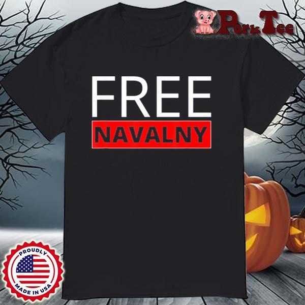 Free Alexei Navalny Russian Activist Putin's Opposition Shirt