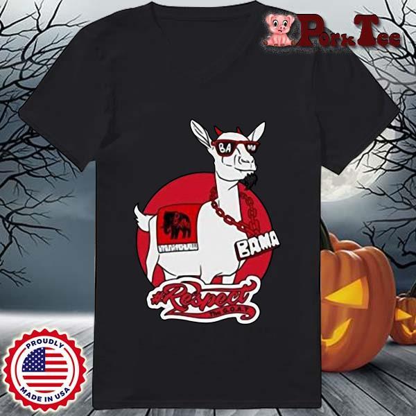 Goat Bama Respect Shirt Ladies Porktee den