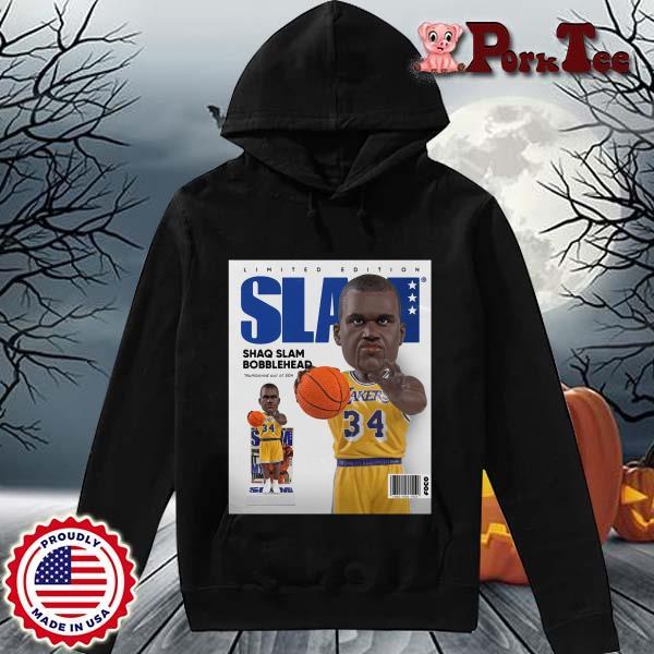 Limited Edition Slam Shaq Slam Bobblehead Shirt Hoodie Porktee den