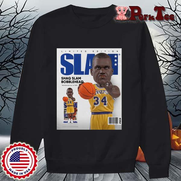 Limited Edition Slam Shaq Slam Bobblehead Shirt Sweater Porktee den