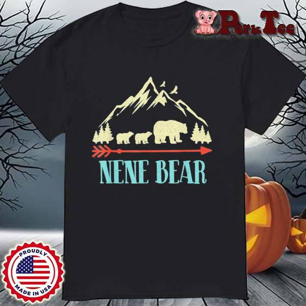 Nene Bear Vintage Father's Day Mother's Day Us 2021 Shirt