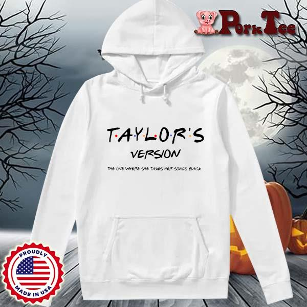 Official taylor's version the one where she takes her songs back s Hoodie Porktee trang