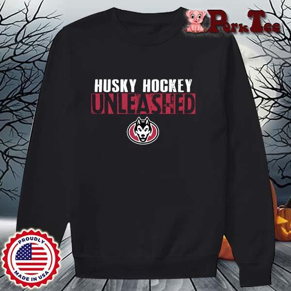 St. Cloud State Husky Hockey Unleashed Shirt Sweater Porktee den