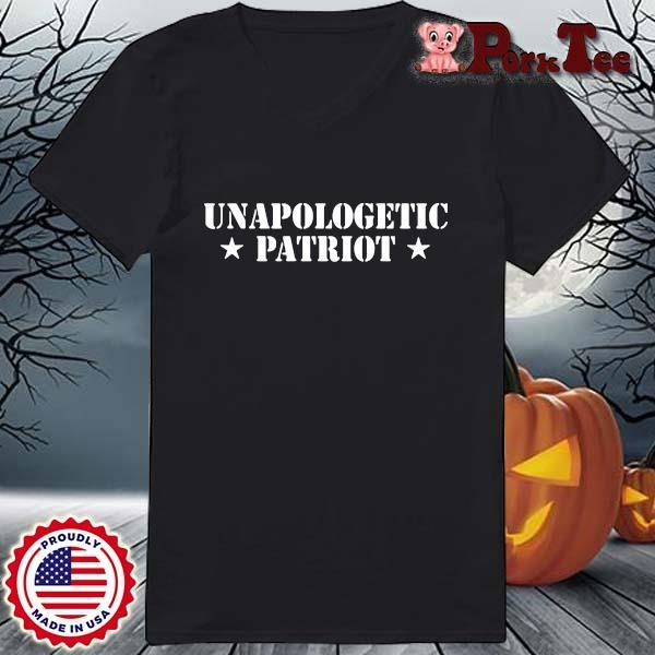 Unapologetic Patriot Shirt Ladies Porktee den