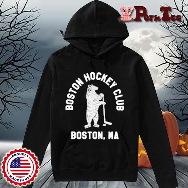 Boston Hockey Club Boston Ma Shirt Hoodie Porktee den