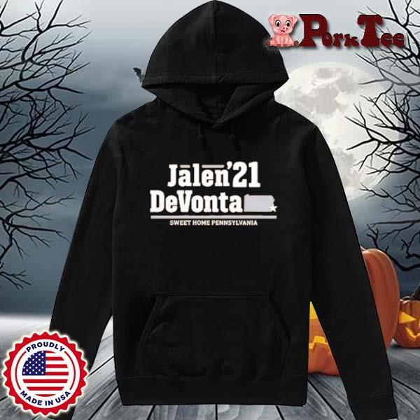 Jalen Devonta '21 Sweet Home Pennsylvania Shirt Hoodie Porktee den