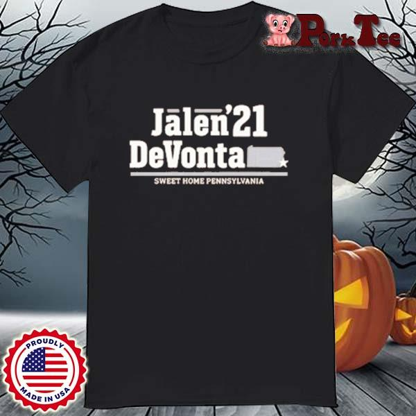 Jalen Devonta '21 Sweet Home Pennsylvania Shirt