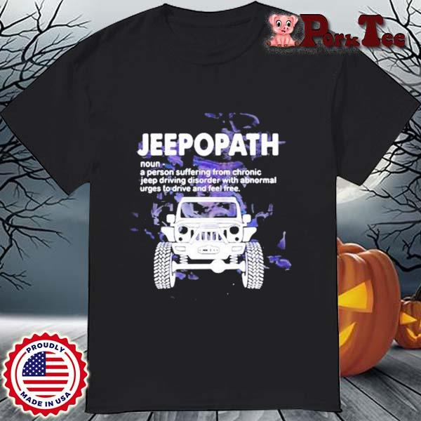 Jeepopath A Person Suffering from Chronic jeep Driving Disorder With Abnormal Shirt