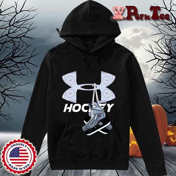 Under Armour Hockey Shirt Hoodie Porktee den