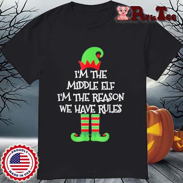 Middle Elf Matching Family Group Christmas Sweatshirt