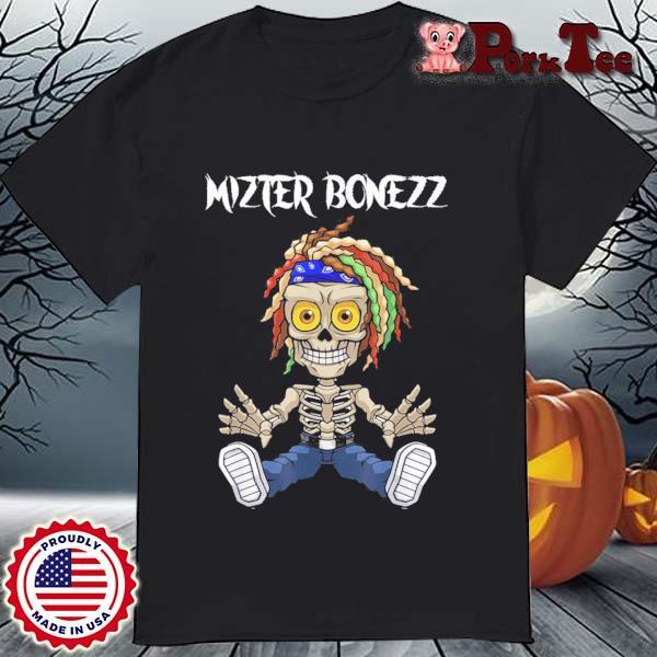 Mizter Bonezz DJ Producer EDM Reggae Shirt