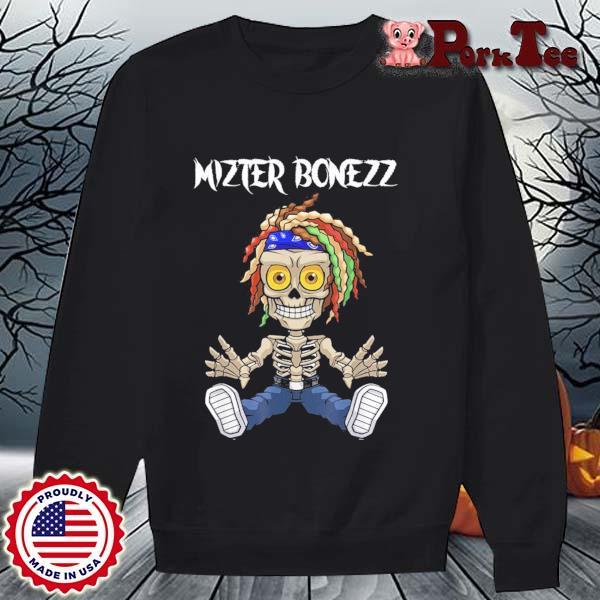 Mizter Bonezz DJ Producer EDM Reggae Shirt Sweater Porktee den
