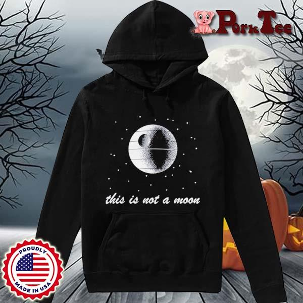 This Is Not A Moon Space Shirt Hoodie Porktee den
