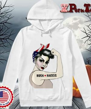 _Biden Harris 2020 Joe Biden Kamala Harris Girl Empowerment T-Shirt Hoodie Porktee trang