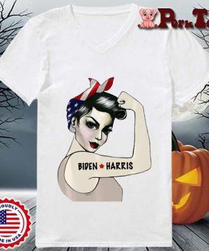 _Biden Harris 2020 Joe Biden Kamala Harris Girl Empowerment T-Shirt Ladies Porktee trang