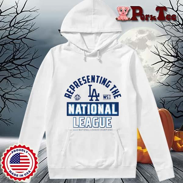 Representing the Los Angeles national league 2020 national league champions s Hoodie Porktee trang
