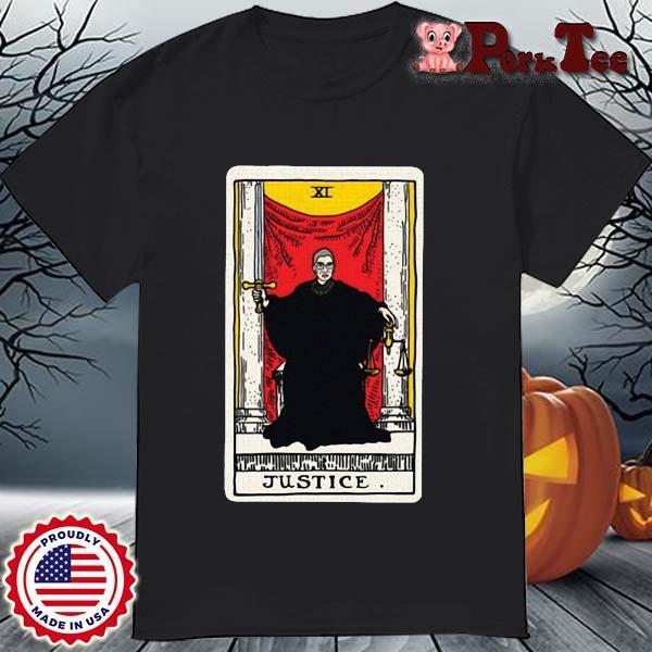 Ruth Bader Ginsburg justice tarot card shirt