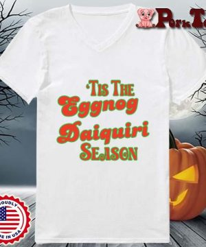 _Tis the eggnog daiquiri season s Ladies Porktee trang