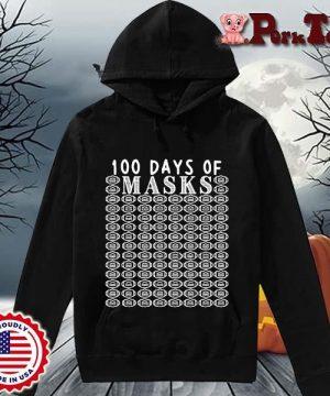 100 days of mask s Hoodie Porktee den