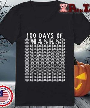 100 days of mask s Ladies Porktee den