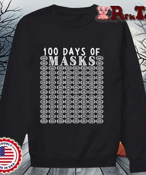 100 days of mask s Sweater Porktee den