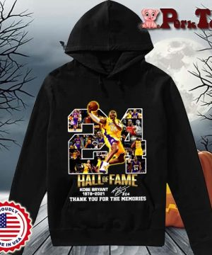 24 hall of fame Kobe Bryant 1978-2021 thank you for the memories signature s Hoodie Porktee den