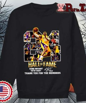 24 hall of fame Kobe Bryant 1978-2021 thank you for the memories signature s Sweater Porktee den