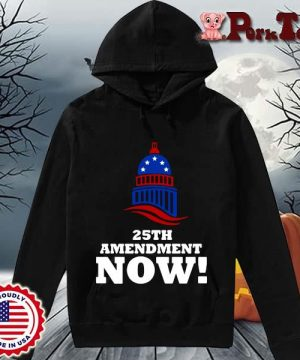 25th Amendment Now Remove Trump Fom Shirt Hoodie Porktee den