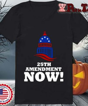 25th Amendment Now Remove Trump Fom Shirt Ladies Porktee den