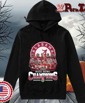 Alabama Crimson Tide 2021 Rose Bowl Champions s Hoodie Porktee den