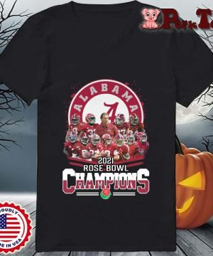 Alabama Crimson Tide 2021 Rose Bowl Champions s Ladies Porktee den